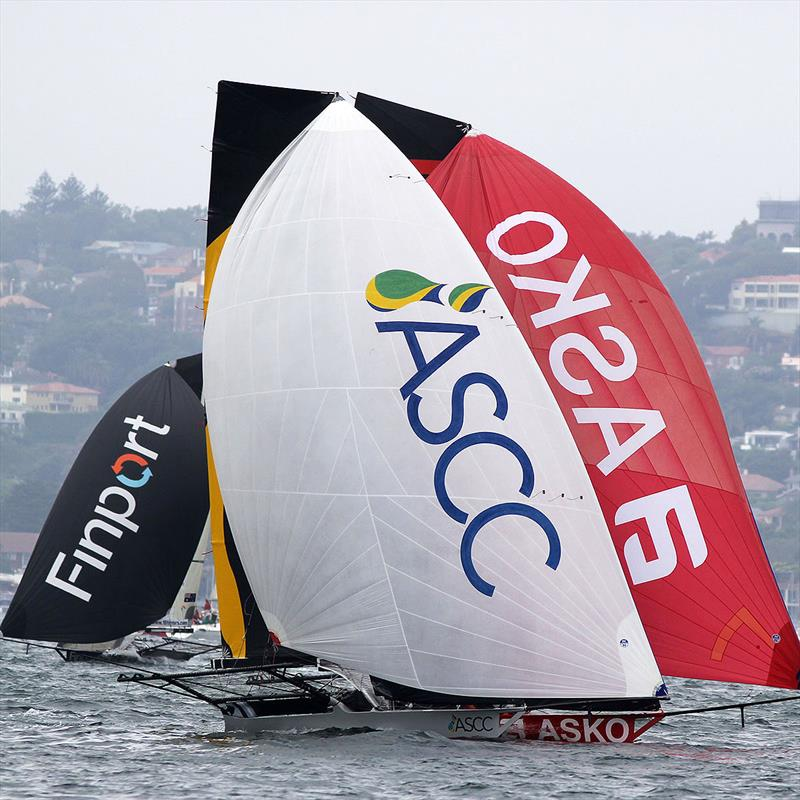 ASCC holds off a strong early challenge by Asko Appliances - 2019 JJ Giltinan Championship - photo © Frank Quealey