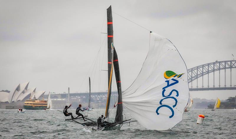 ASCC won two races in the 2019 JJ Giltinan Championship and but for gear breakages would have placed higher than 4th overall - March 2019, Sydney Harbour - photo © Michael Chittenden