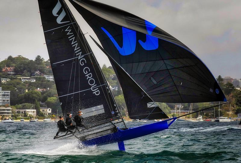 Winning Group (John Winning Jnr) was the top Australian competitor at the 2019 JJ Giltinan Championships - photo © Michael Chittenden