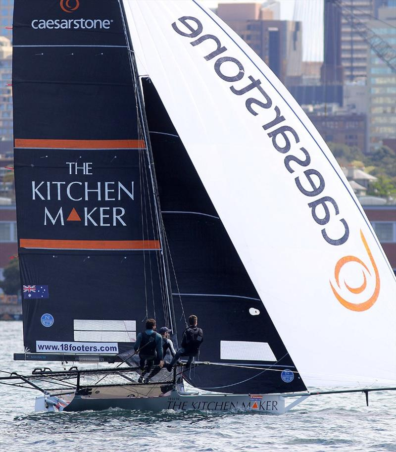 The Kitchen Maker-Caesarstone led for most of the race - photo © Frank Quealey