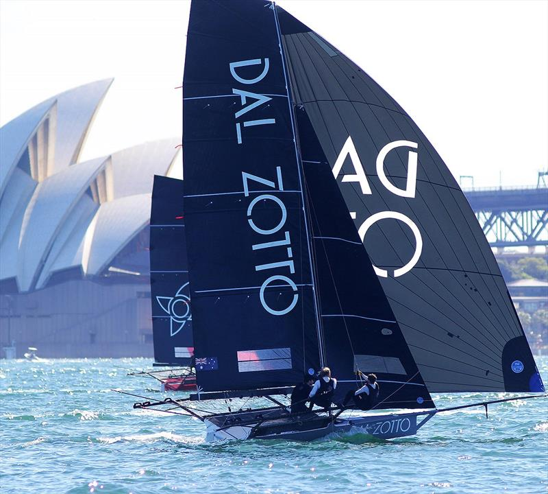Dal Zotto and race winner Noakesailing challenging for the lead in last Sunday's Spring Championship on Sydney Harbour - photo © Frank Quealey