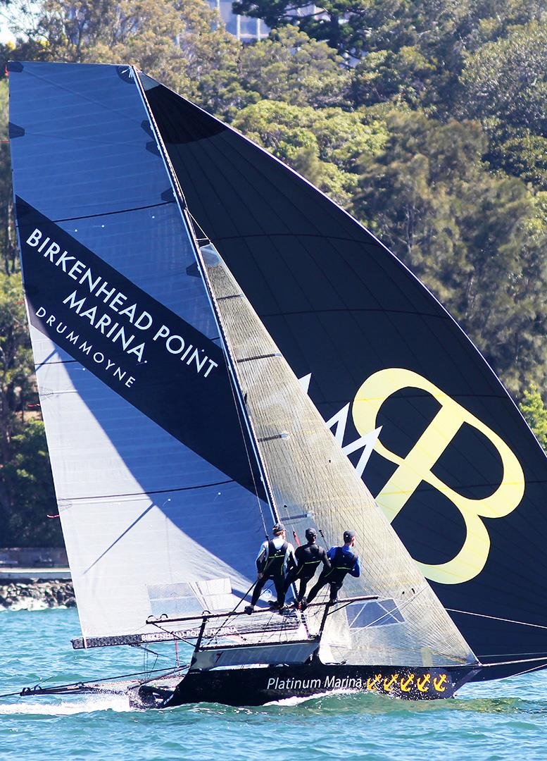 Consistency has Birkenhead Point Marina in third place in the Spring Championship - photo © Frank Quealey