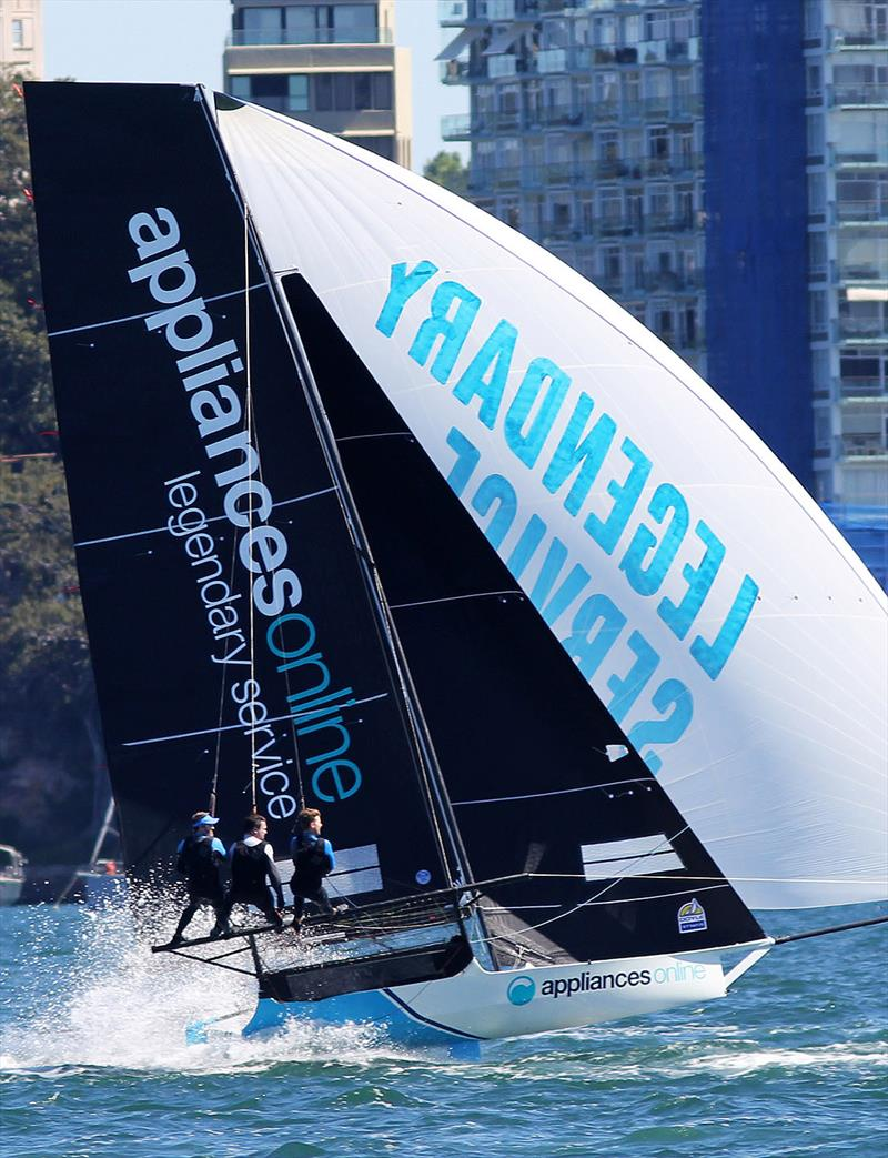 Spring Championship leader, appliancesonline.com.au in action on Sydney Harbour last Sunday - photo © Frank Quealey