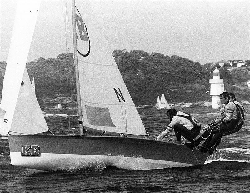 KB in action during a Giltinan Championship race - photo © Frank Quealey