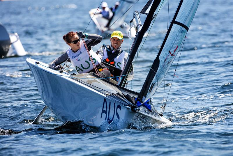 Fitzgibbon and Tesch - 2018 Australian Para Sailing Championships - photo © Richard Langdon / World Sailing