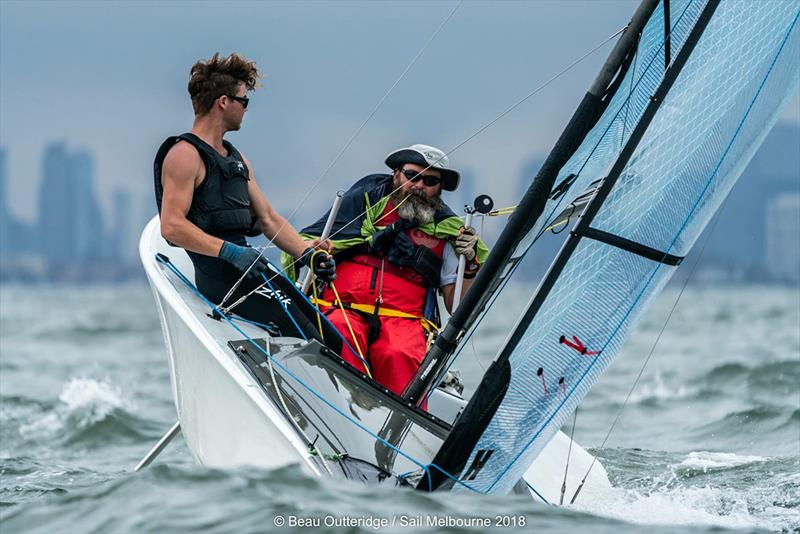 Ross Manning and Max Quan won the SKUD 18 class - 2018 Australian Para Sailing Championships - photo © Beau Outteridge