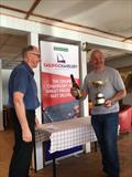 Ian Walters wins the Banbury Solo Open, the opening event in the Sailing Chandlery Midland Series © Nigel Davies