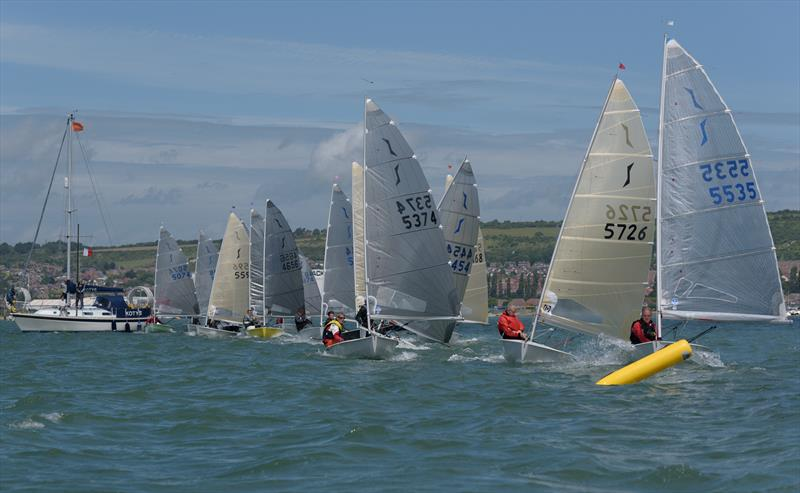 Race 1 start during the Portchester Solo Open - photo © Chris Raymont