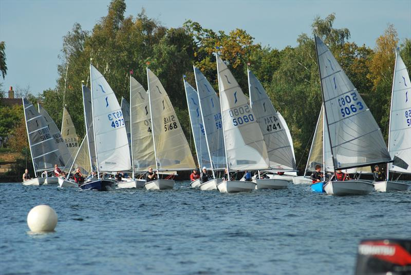 Solo Open at Papercourt Sailing Club