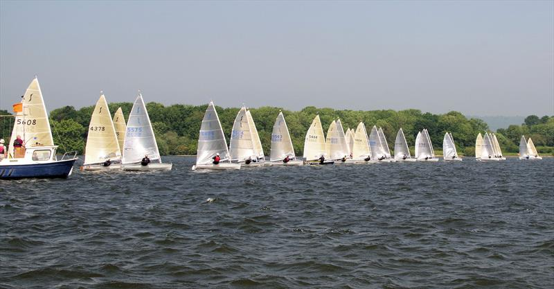 Race 1 starts in the Solo Southern Area Championship at Bough Beech - photo © Martyn Smith