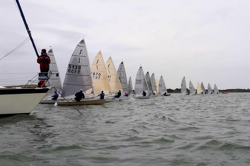 Solo Open at Portchester Sailing Club