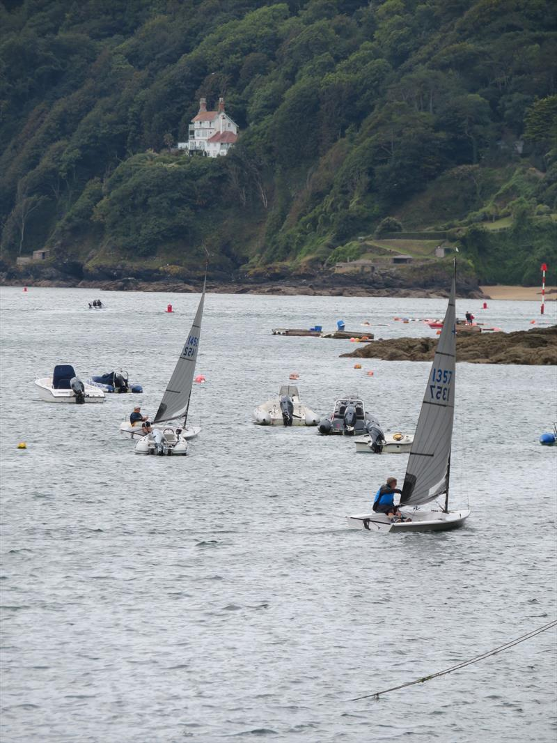 Salcombe Yacht Club Autumn Series Day 2 photo copyright Malcolm Mackley taken at Salcombe Yacht Club and featuring the Solo class