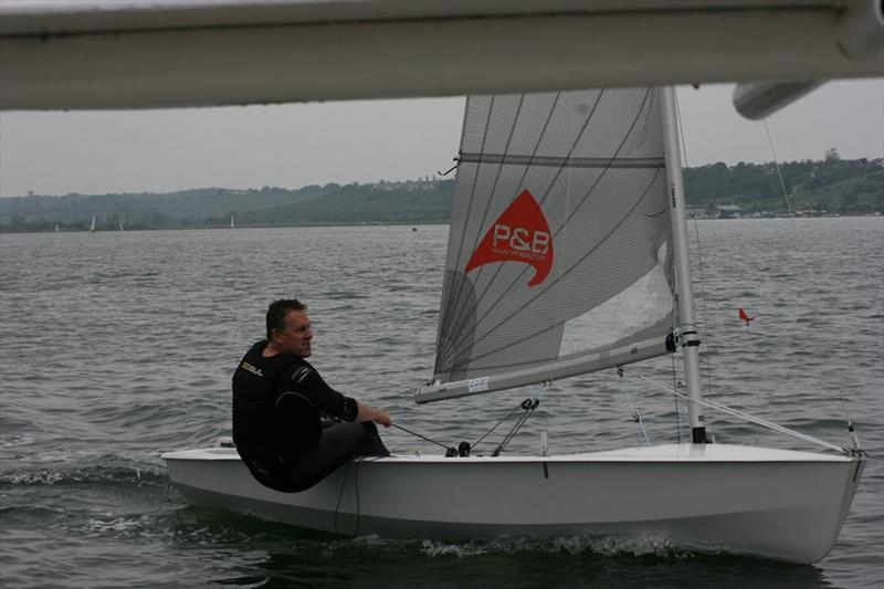 Vince Horey wins the Leigh-on-Sea Solo Open - photo © Liz Noblet