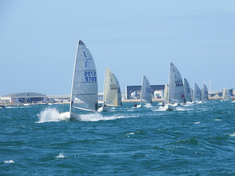 Awesome conditions on day 2 of the Solo Nationals at the WPNSA - photo © Will Loy