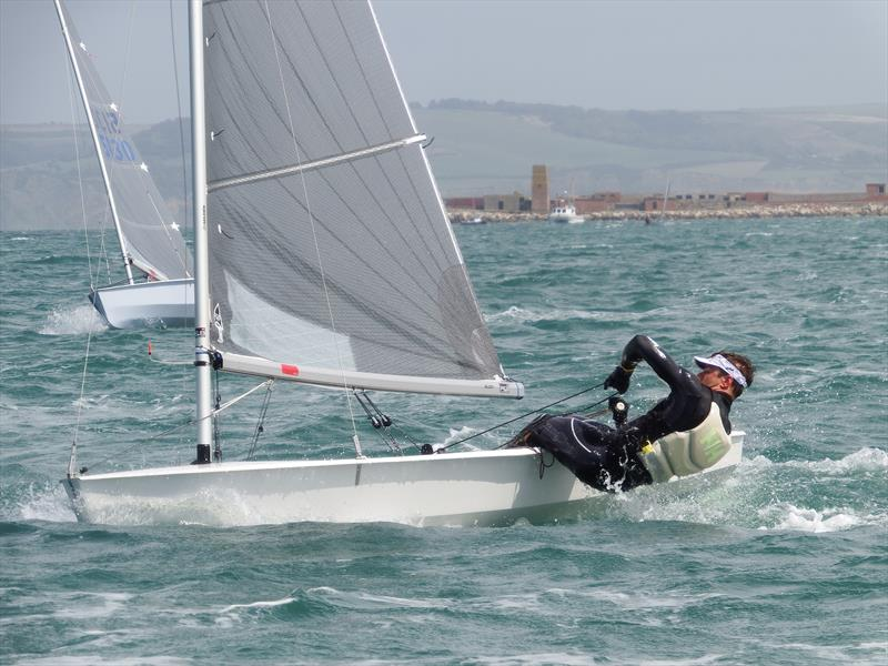 Jack Hopkins, third overall in the Solo Nationals at the WPNSA photo copyright Will Loy taken at Weymouth & Portland Sailing Academy and featuring the Solo class