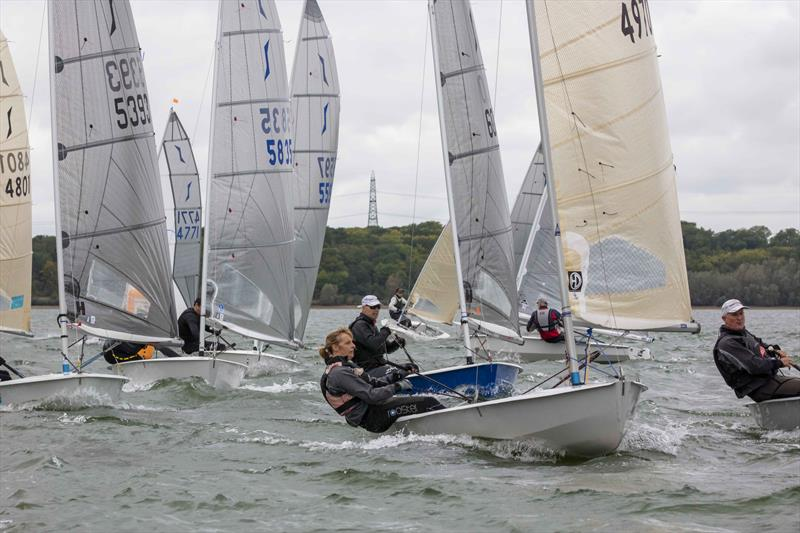 1st Lady Sue Taylor during the North Sails Solo End of Seasons at Grafham Water - photo © Tim Olin / www.olinphoto.co.uk