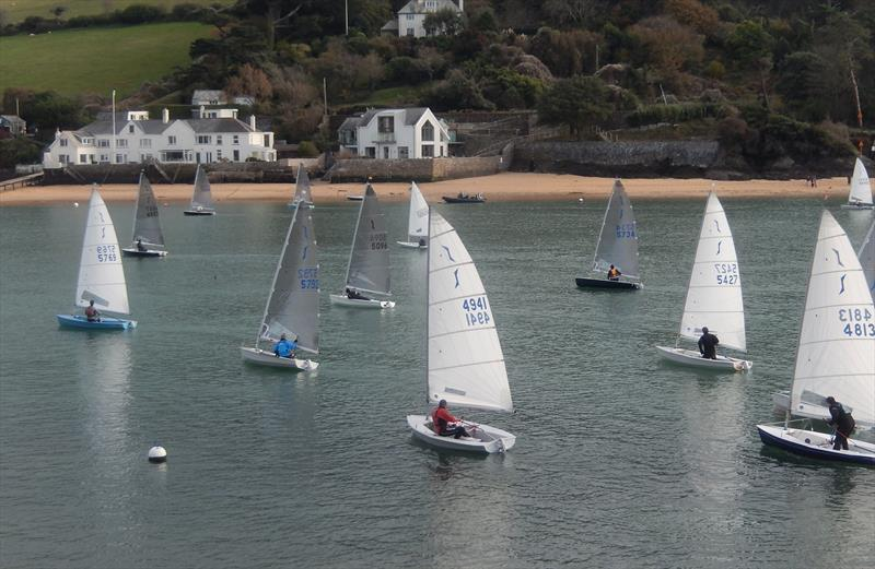 Salcombe Yacht Club Winter Series Race 4 photo copyright Malcolm Mackley taken at Salcombe Yacht Club and featuring the Solo class