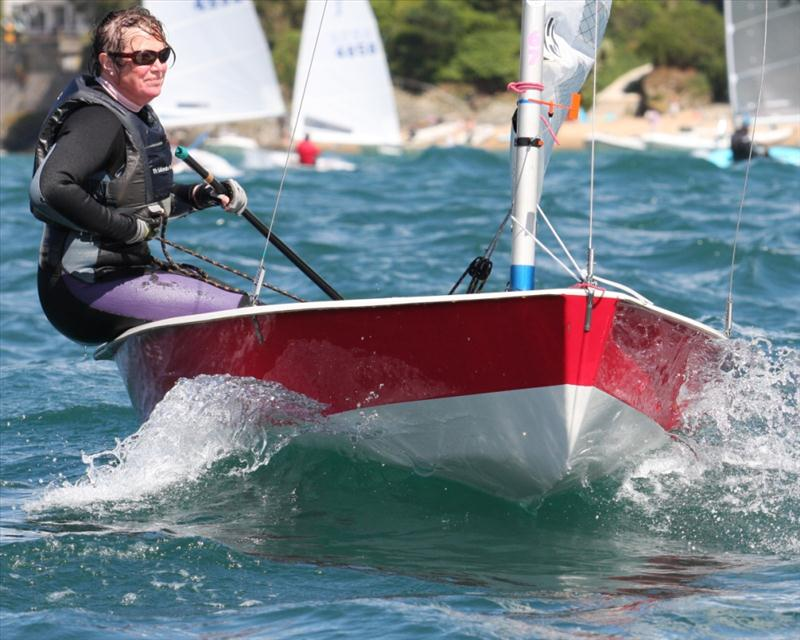 Big winds at Henri Lloyd Salcombe Regatta photo copyright John Murrell taken at Salcombe Yacht Club and featuring the Solo class