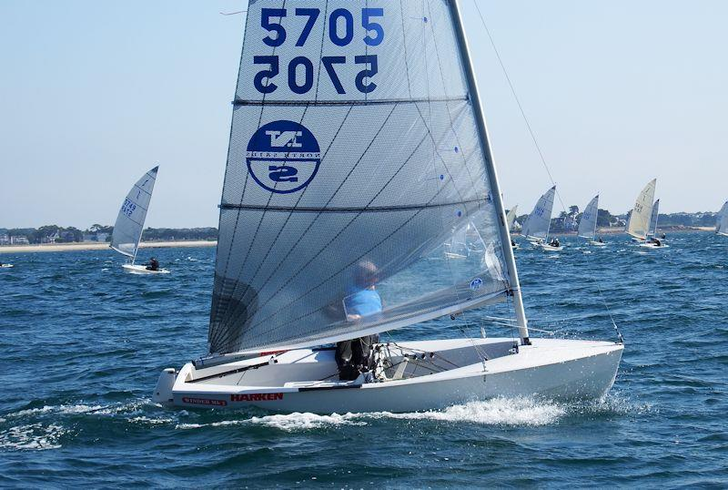 Charlie Cumbley is the overall leader on day 2 of the Magic Marine Solo Nation's Cup in Carnac - photo © Will Loy
