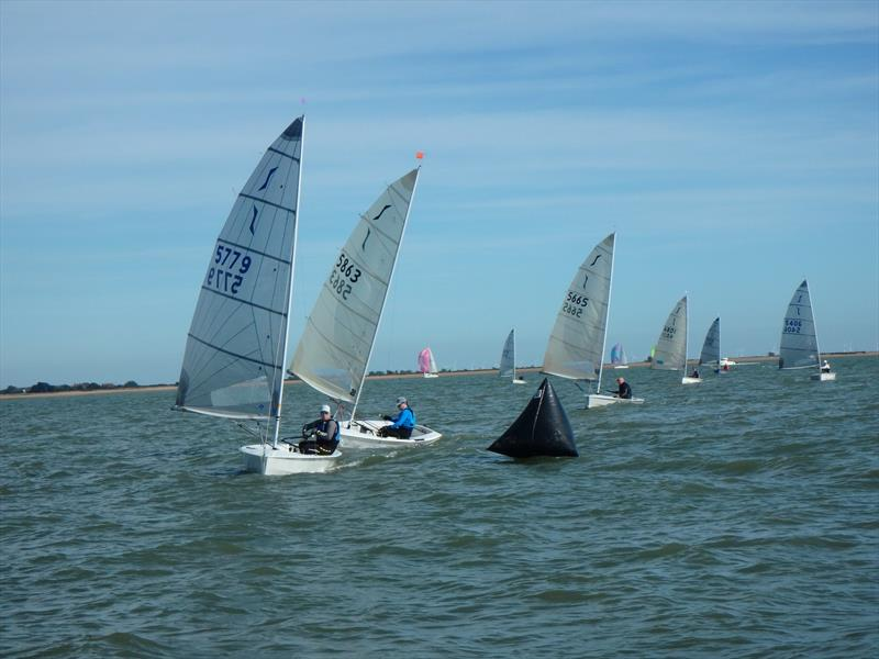 Solo Eastern Area Championships at Brightlingsea - photo © Shaun Seer