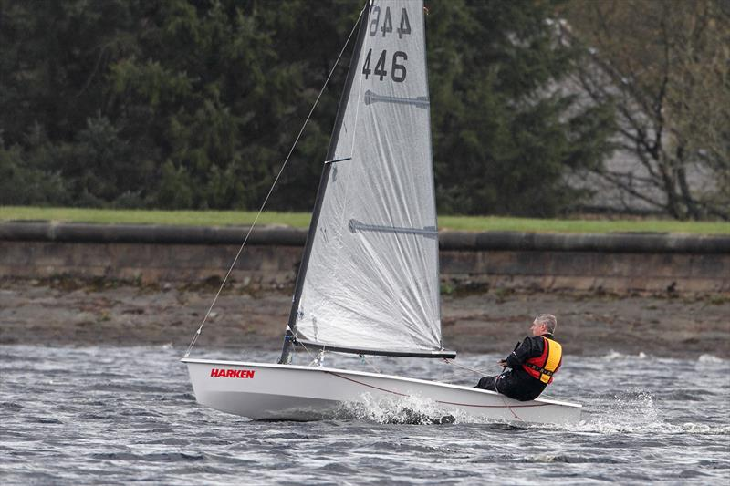 The first open meeting of the 2015 Solution calendar was at Delph photo copyright Paul Hargreaves taken at Delph Sailing Club and featuring the Solution class