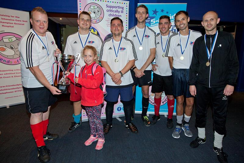 PSP Marine win the MAA 5-a-side football tournament at the Southampton Boat Show 2016 - photo © MAA