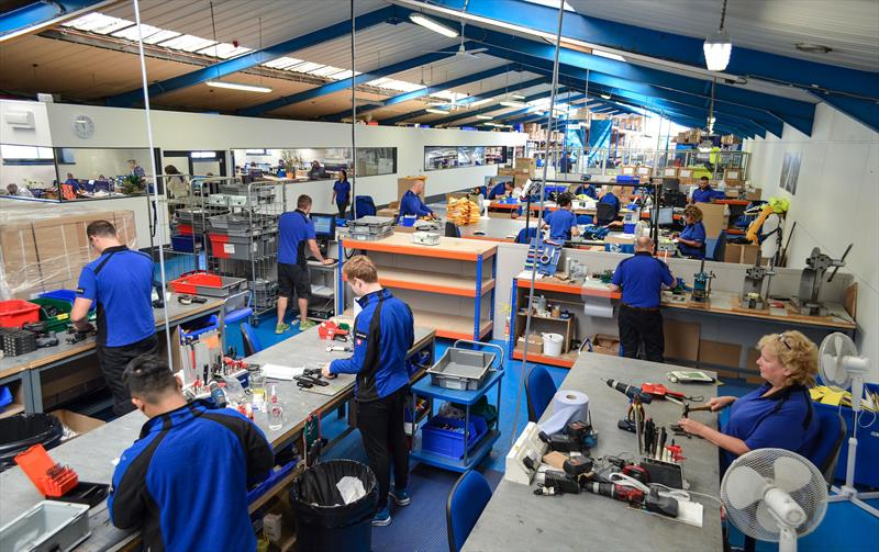 Spinlock have expanded their factory and facilities, whilst employing new staff and apprentices - photo © Spinlock