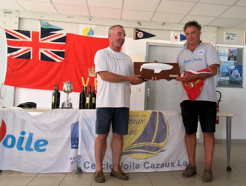 Squib inaugural European Cup at Lac de Cazaux, France photo copyright CVCL taken at Cercle de Voile de Cazaux and featuring the Squib class