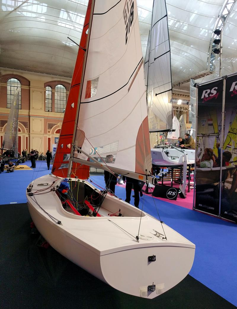 Squib at the RYA Dinghy Show 2018 - photo © Mark Jardine