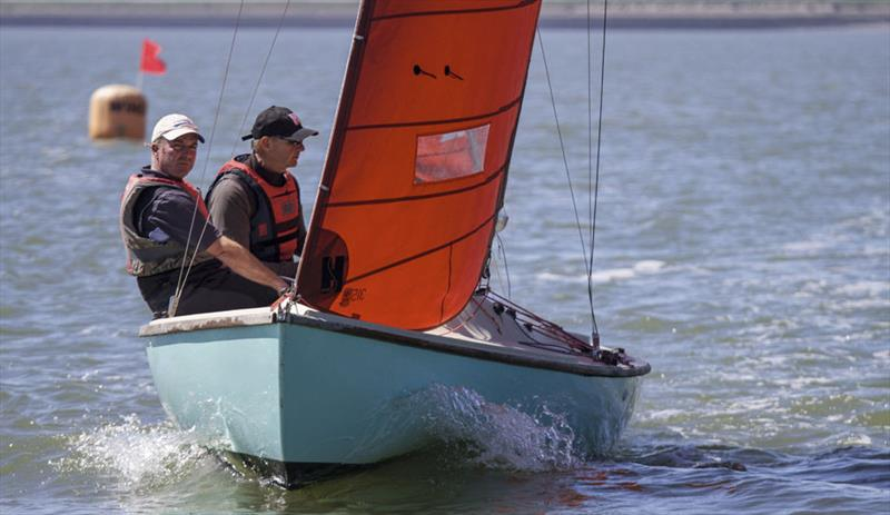 Stu Rix & Steve Warren on Aquabat win the Squib Gold Cup at Burnham - photo © Roger Mant