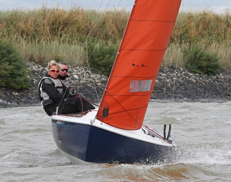 Star performance from Squib sailors Malcolm and Jackie Hutchings on Lady Penelope at Burnham Week - photo © Roger Mant
