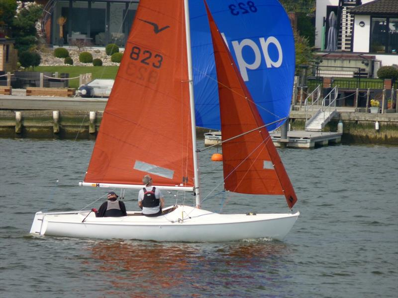 Robert Coyle and Mark Rawinsky win the Broadland Squib Regatta at Waveney & Oulton Broad - photo © Tim Horne