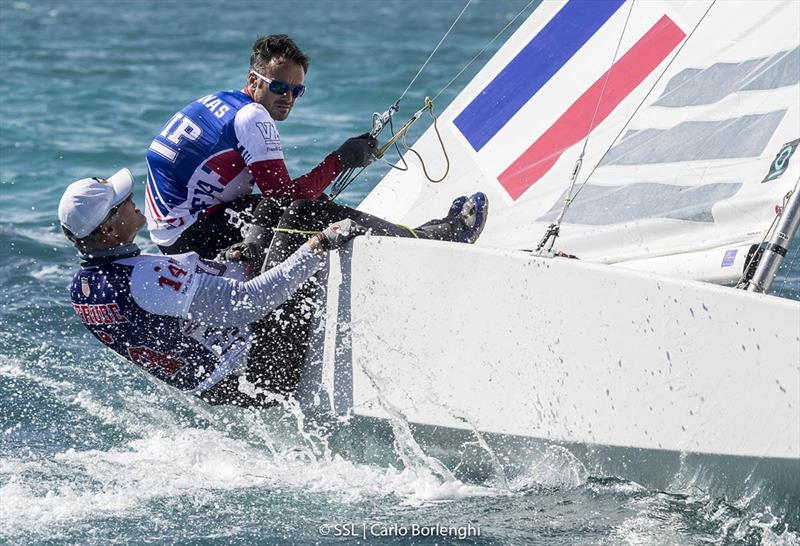 2017 Star Sailors League Finals - Day 1 photo copyright Carlo Borlenghi taken at Nassau Yacht Club and featuring the Star class