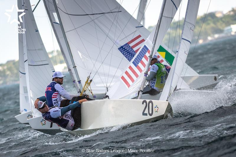Bow: 20 USA 8481 / Skipper: Mark Mendelblatt USA / Crew: Brian Fatih USA - Star Sailors League Finals 2018 - photo © Marc Rouiller