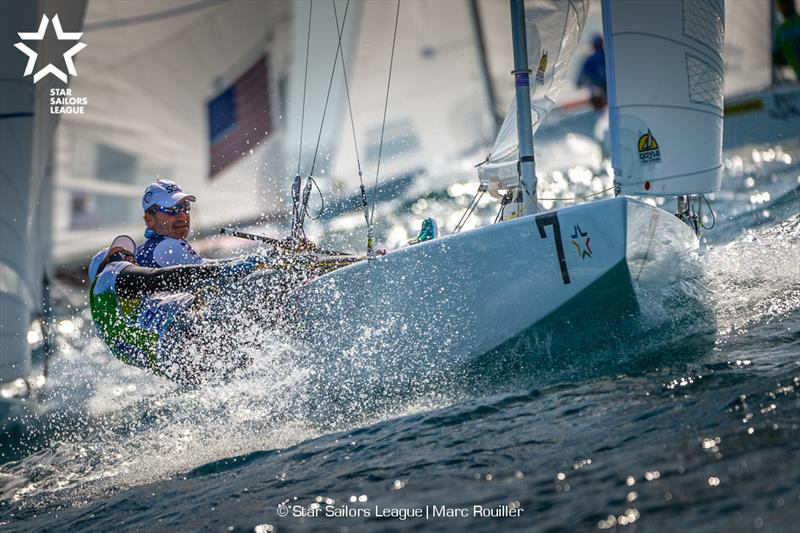Bow: 07 USA 8466 / Skipper: Paul Cayard USA / Crew: Arthur Lopes BRA - 2018 Star Sailors League Finals - photo © Marc Rouiller