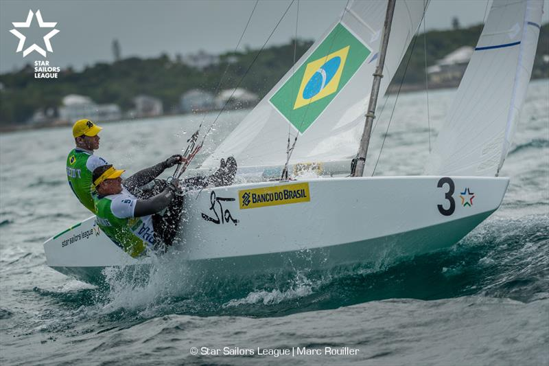 Bow: 03 BRA 8172 / Skipper: Robert Scheidt BRA / Crew: Henry Boening BRA - 2018 Star Sailors League Finals - photo © Marc Rouiller