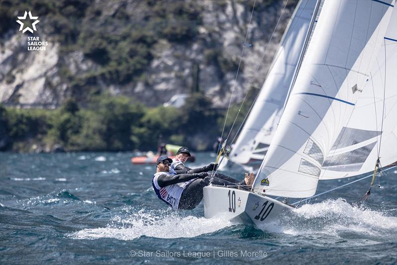 Training Day - 2019 Star European Championship and SSL Breeze Grand Slam photo copyright Gilles Morelle taken at  and featuring the Star class