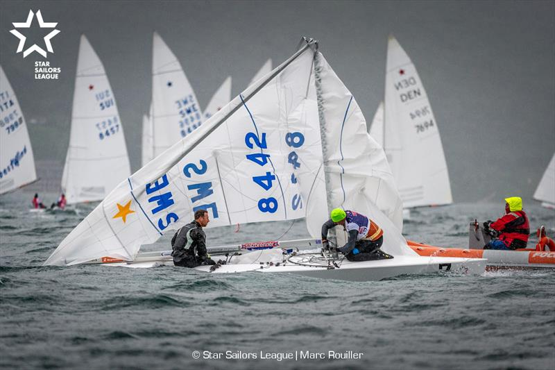 07 SWE 8442 / / Skipper: Freedy LÓÓf / / Crew: Brian Fatih - 2019 Star European Championships and Star Sailors League Breeze Grand Slam - photo © Marc Rouiller