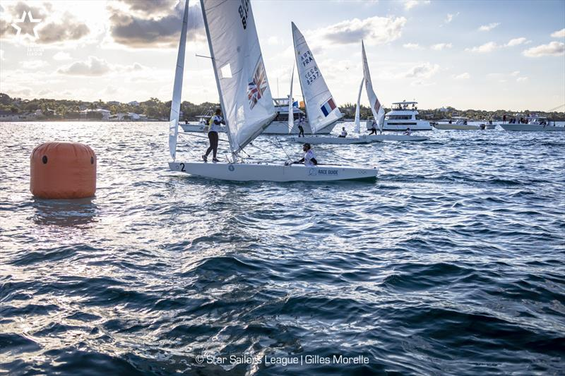 Star Sailors League Finals 2019 - Final Day photo copyright Gilles Morelle taken at Nassau Yacht Club and featuring the Star class