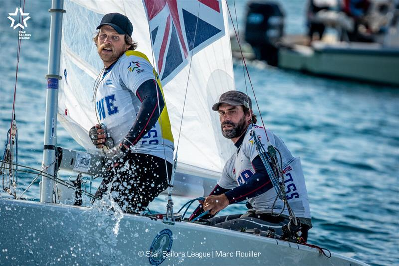 Star Sailors League Finals 2019 - Final Day photo copyright Marc Rouiller taken at Nassau Yacht Club and featuring the Star class