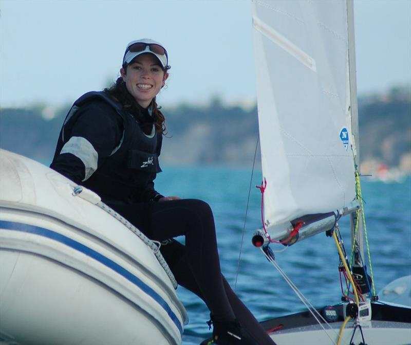 Two months after Alice Noyer's match-racing nationals win, Erica Dawson became the first ever female to win the fleet-racing Nationals, giving girls a clean sweep of the Starling class's top two events in 2012. - photo © Brian Haybittle