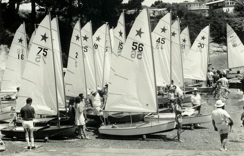 The first Starling Interclub Racing regatta held at Glendowie BC in December 1970 - Des Townson, A sailing legacy - photo © Glendowie BC archives