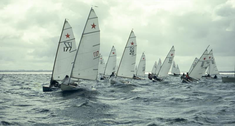 The first Starling nationals - Kohi YC - 1972, The event attracted 43 entries.- Des Townson, A sailing legacy - photo © John Peet