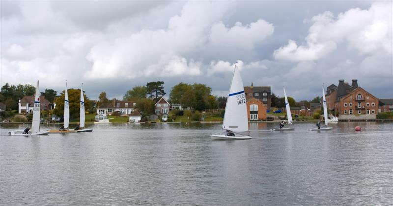 Veronica Falat leading Race 3 during the Oulton Broad Streaker Open - photo © Doug Horner