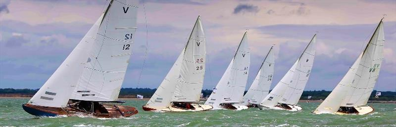 Fleet racing at Cowes Classic Week - photo © Jake Sugden