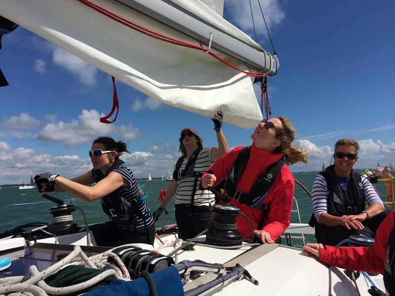Racing with Sunsail at Lendy Cowes Week 2017 - photo © Sunsail