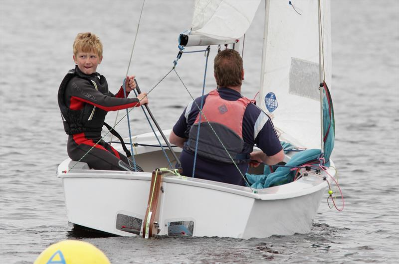 Junior sailing at Burwain Sailing Club - photo © Paul Hargreaves