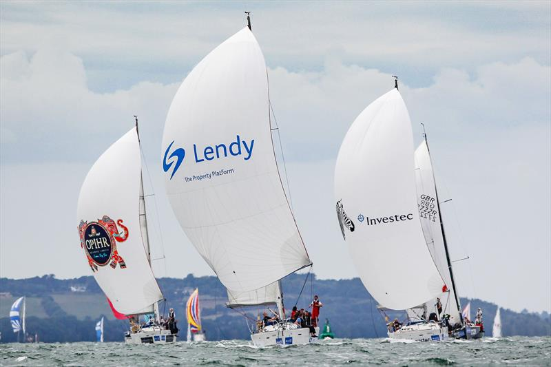 Lendy in the Sunsail F40 class on day 6 of Lendy Cowes Week - photo © Paul Wyeth / CWL