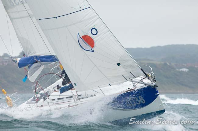 June Calendar New Zealand : Sunsail f fleet in the jpmorgan round island race