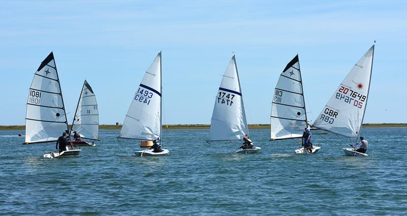North West Norfolk Sailing Week 2018 photo copyright Neil Foster / www.wfyachting.com taken at Blakeney Sailing Club and featuring the Supernova class